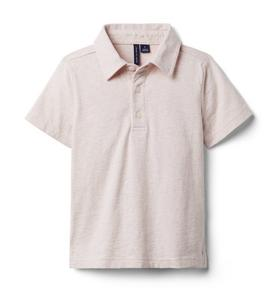 Heather Jersey Polo