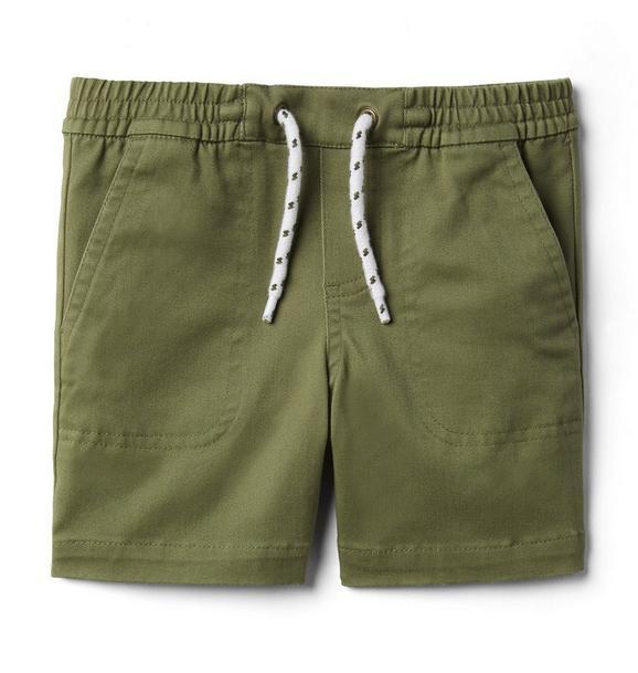 Twill Pull-On Short