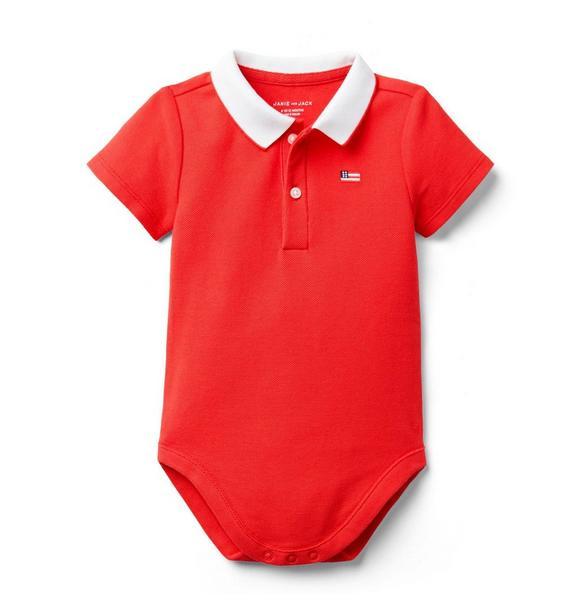 Baby Polo Bodysuit