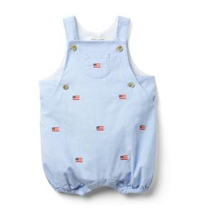 Baby Embroidered Shortall