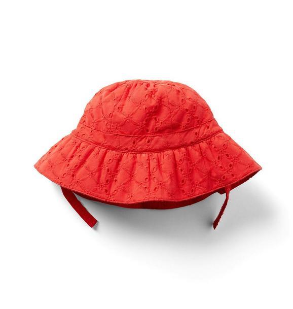 Baby Eyelet Bucket Hat