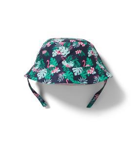 Reversible Flamingo Bucket Hat