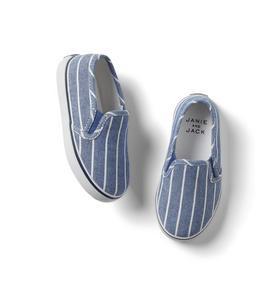 Striped Slip-On Sneaker