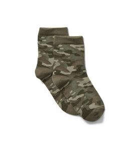 Janie and Jack Camo Sock