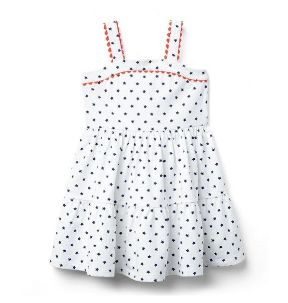 Star Print Dress