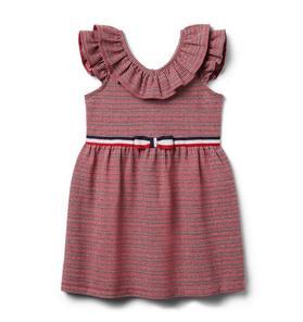 Houndstooth Jacquard Dress