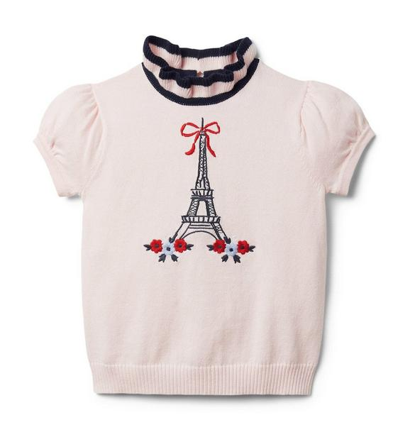 Ruffle Eiffel Tower Sweater