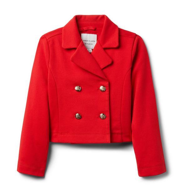 Button Ponte Jacket