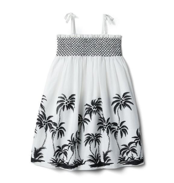 Smocked Palm Dress
