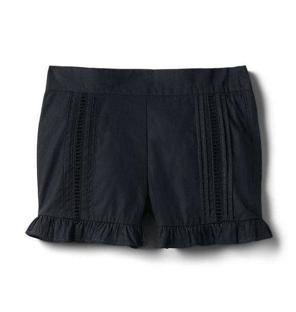 Ruffle Trim Short