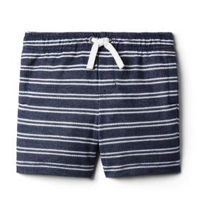 Striped Terry Short