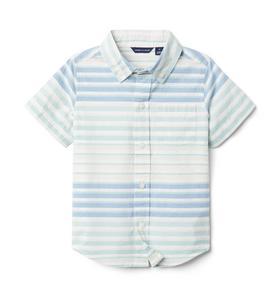 Striped Poplin Shirt