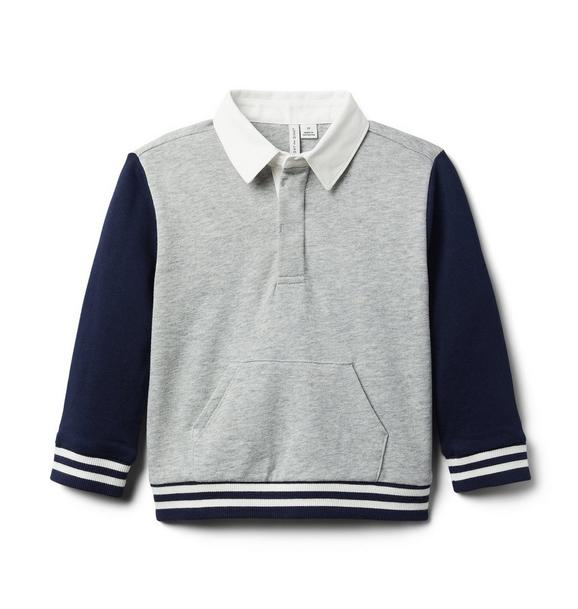 Colorblocked Rugby Sweatshirt