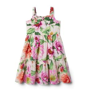 Dahlia Bow Midi Dress