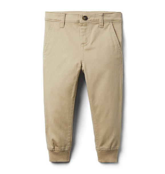 The Stretch Twill Jogger