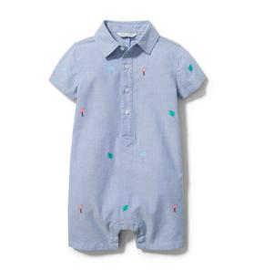 Baby Embroidered Romper