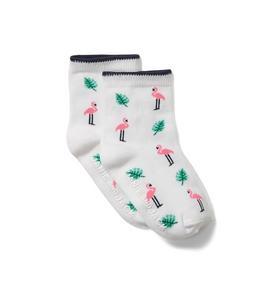 Baby Flamingo Sock