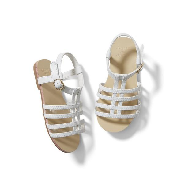Clear Strap Sandal