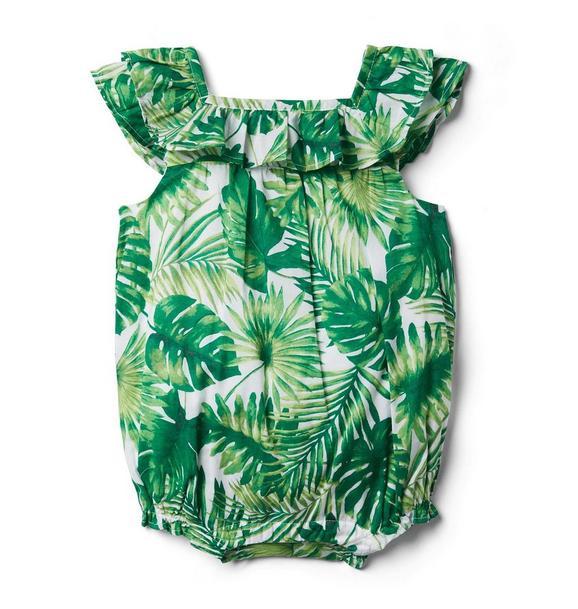 Baby Palm Romper