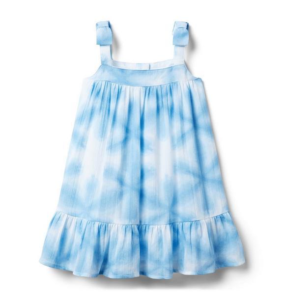 Shibori Bow Strap Dress