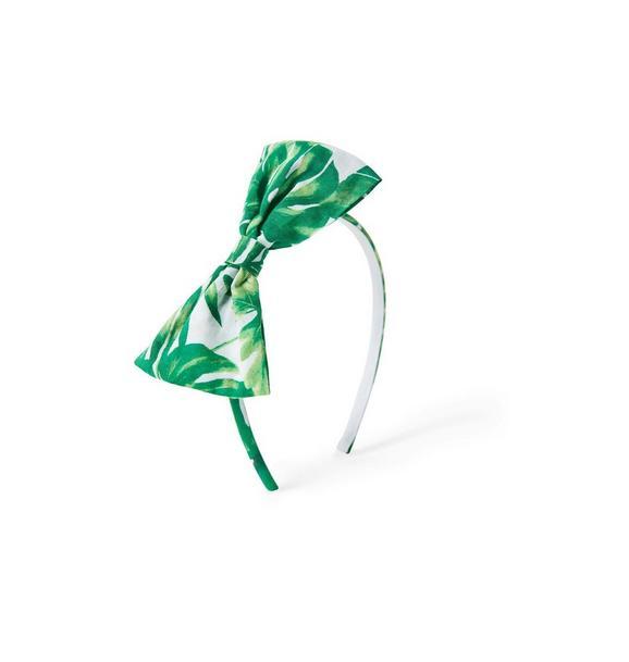 Palm Bow Headband