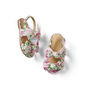 Dahlia Double Bow Sandals