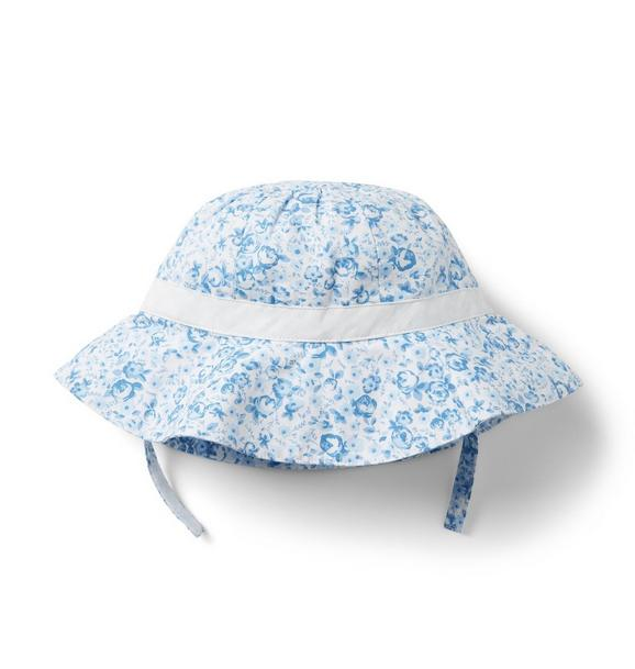 Baby Ditsy Floral Sun Hat