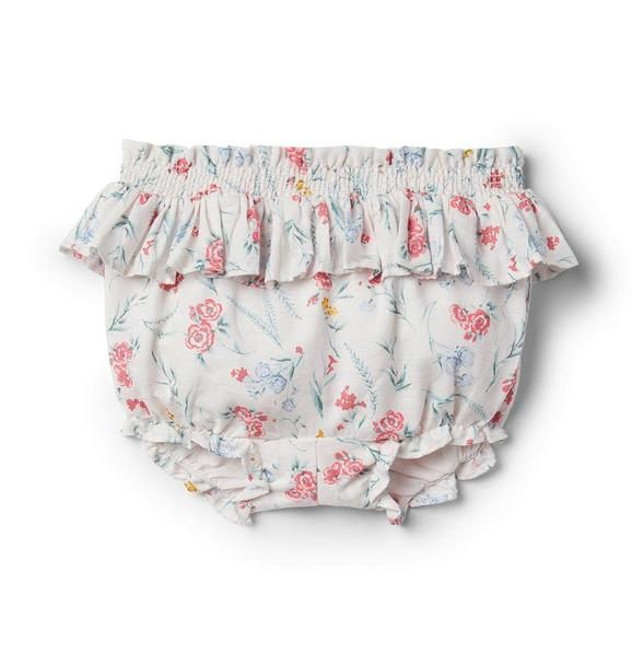 Baby Floral Ruffle Bloomers