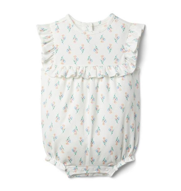 Baby Floral Ruffle Romper