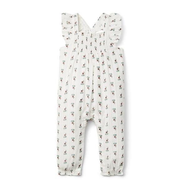Baby Floral Jumpsuit