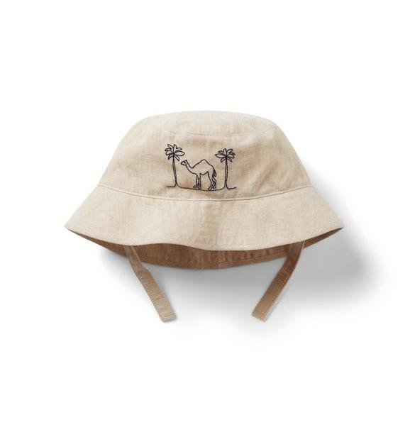 Baby Embroidered Camel Bucket Hat