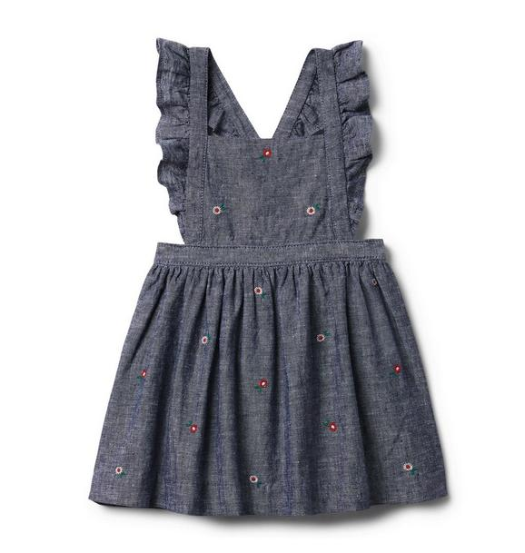 Baby Floral Ruffle Jumper