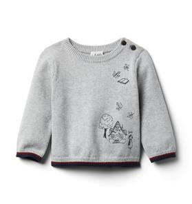 Baby Embroidered Sweater
