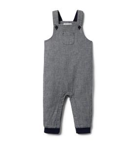 Baby Plaid Overall