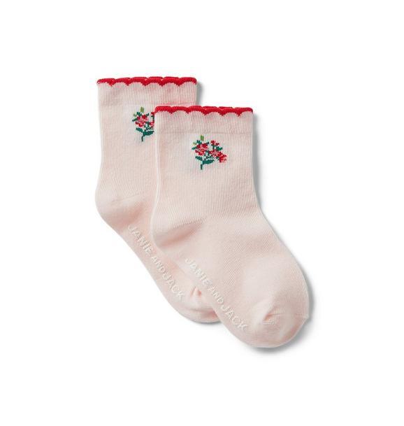 Baby Flower Sock