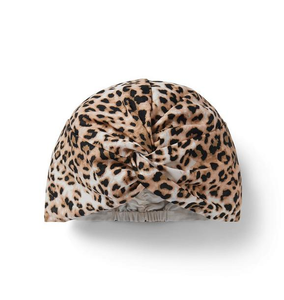 Leopard Print Head Wrap