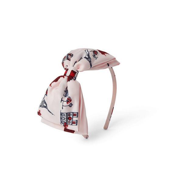 Paris Bow Headband