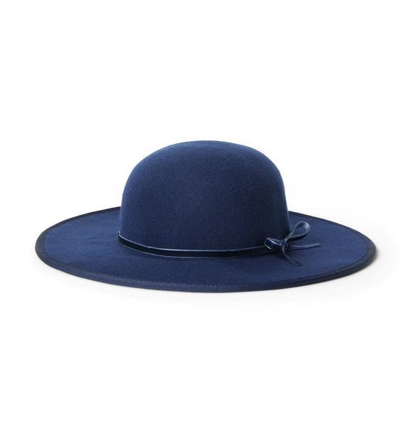 Felt Wide Brim Hat