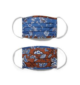 Kid Paisley Floral Mask 2-Pack