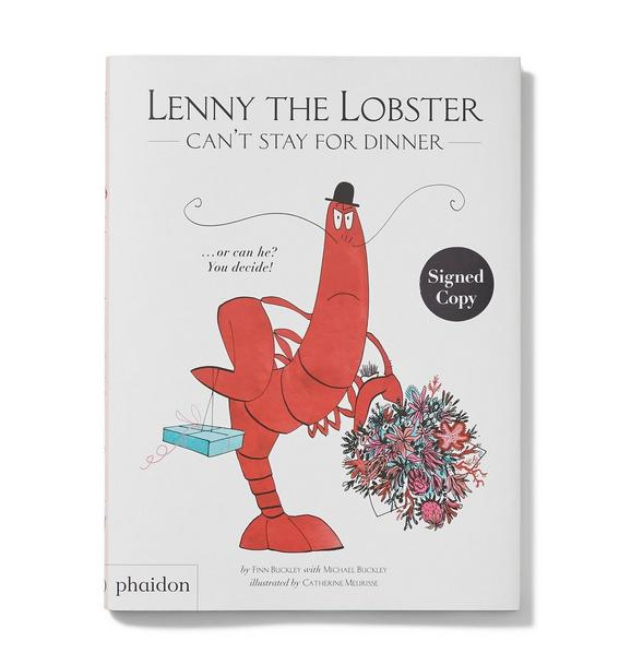 Janie and Jack Lenny The Lobster Cant Stay For Dinner Book