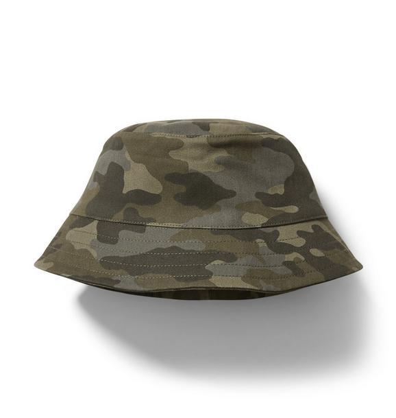 Janie and Jack Camo Bucket Hat
