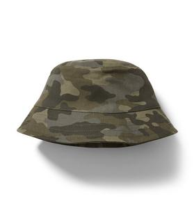 Janie and Jack Camo Bucket Hat