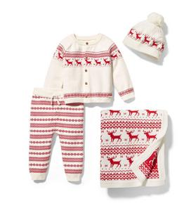 Baby 4-Piece Fair Isle Gift Box