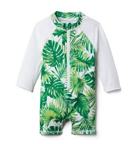 Baby Palm Rash Guard Swimsuit