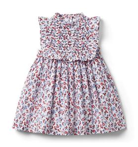 Baby Ditsy Floral Pleated Dress
