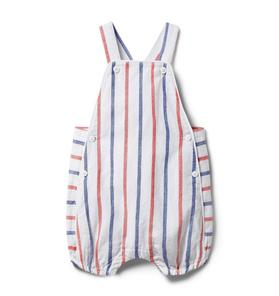 Baby Striped Shortall