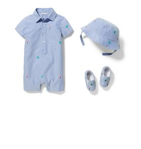 Baby 3-Piece Tropical Romper Gift Box
