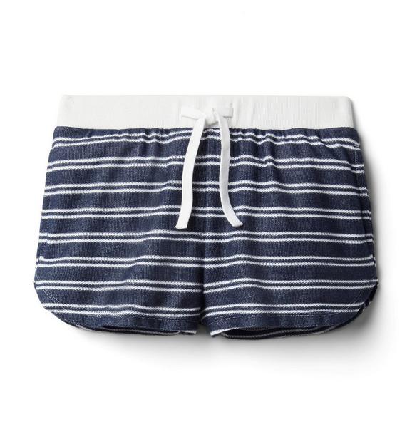 Striped Textured Short