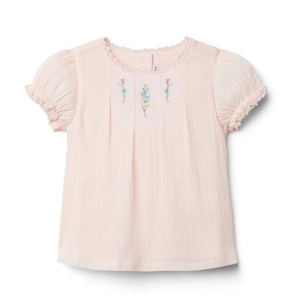Baby Embroidered Floral Top
