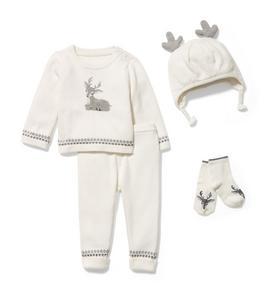 Baby 4-Piece Deer Gift Box